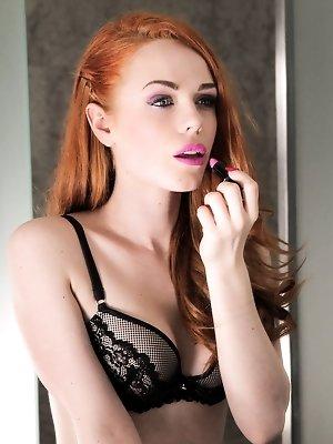 Ella Hughes enjoys a vaginal creampie